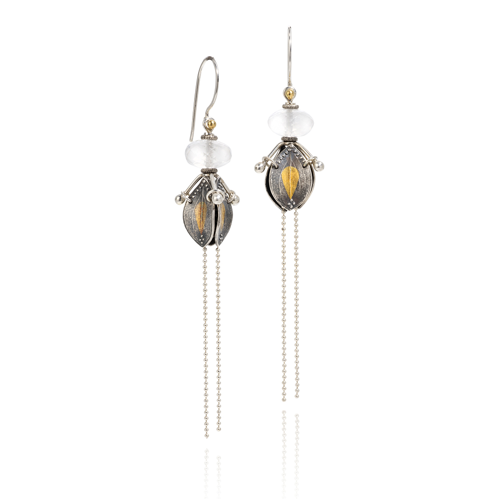 NISA Jewelry Meadow Pod Earrings on white