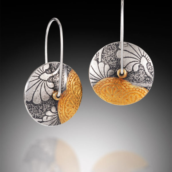 NISA Jewelry Collage Lentil Earrings