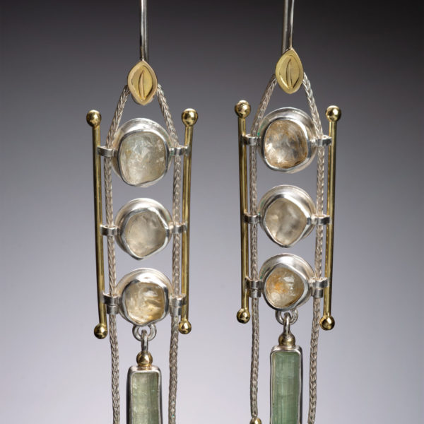 NISA Jewelry Palace of Light Earrings