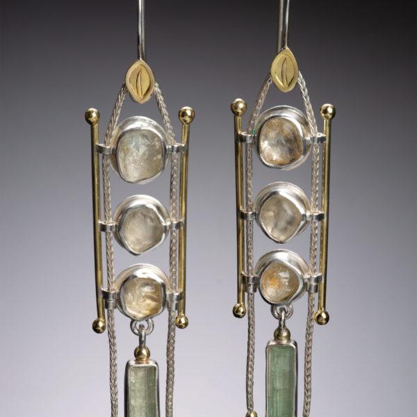 NISA Jewelry Palace of Light Earrings