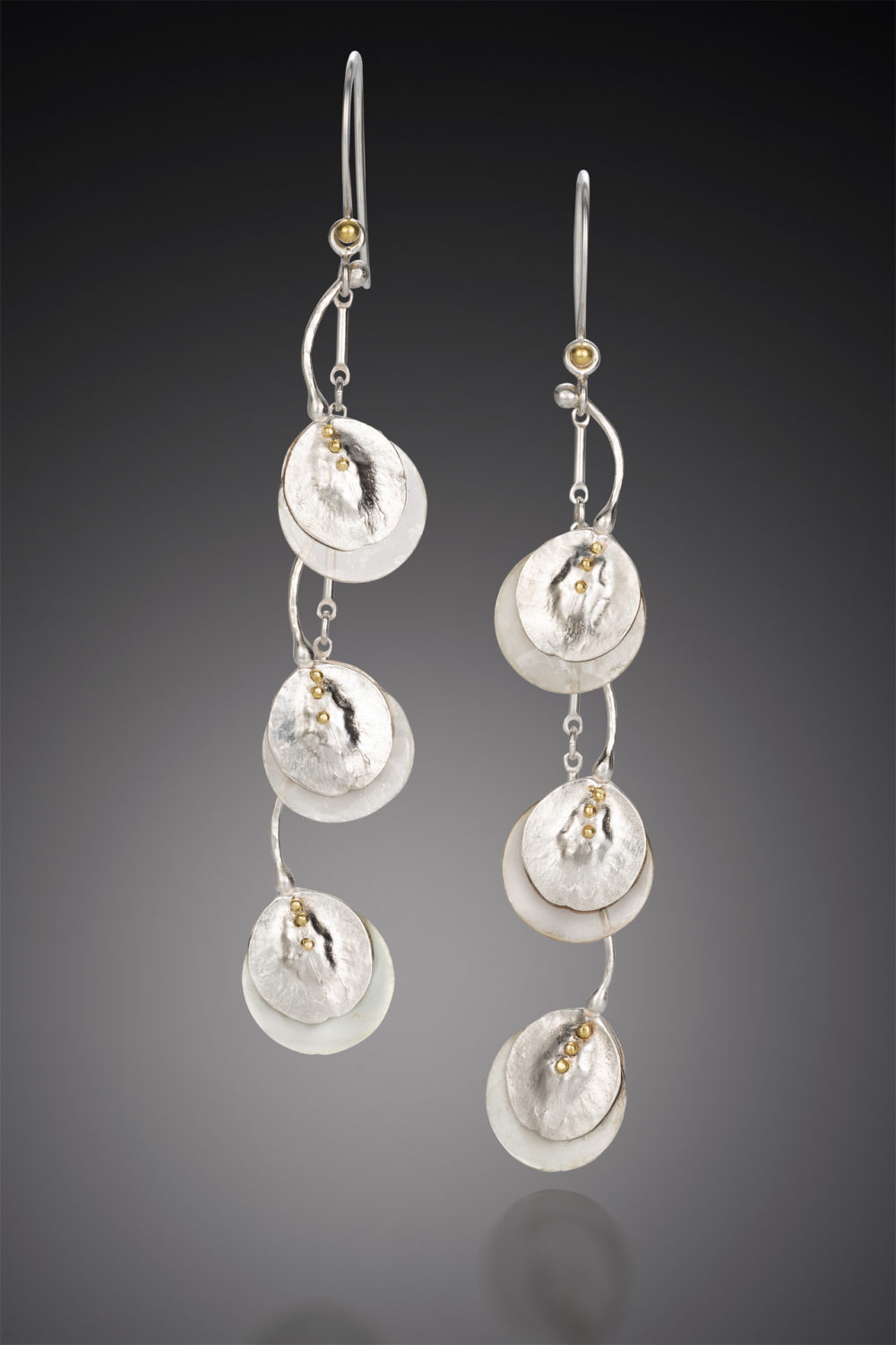 NISA Jewelry Moon Pod Earrings