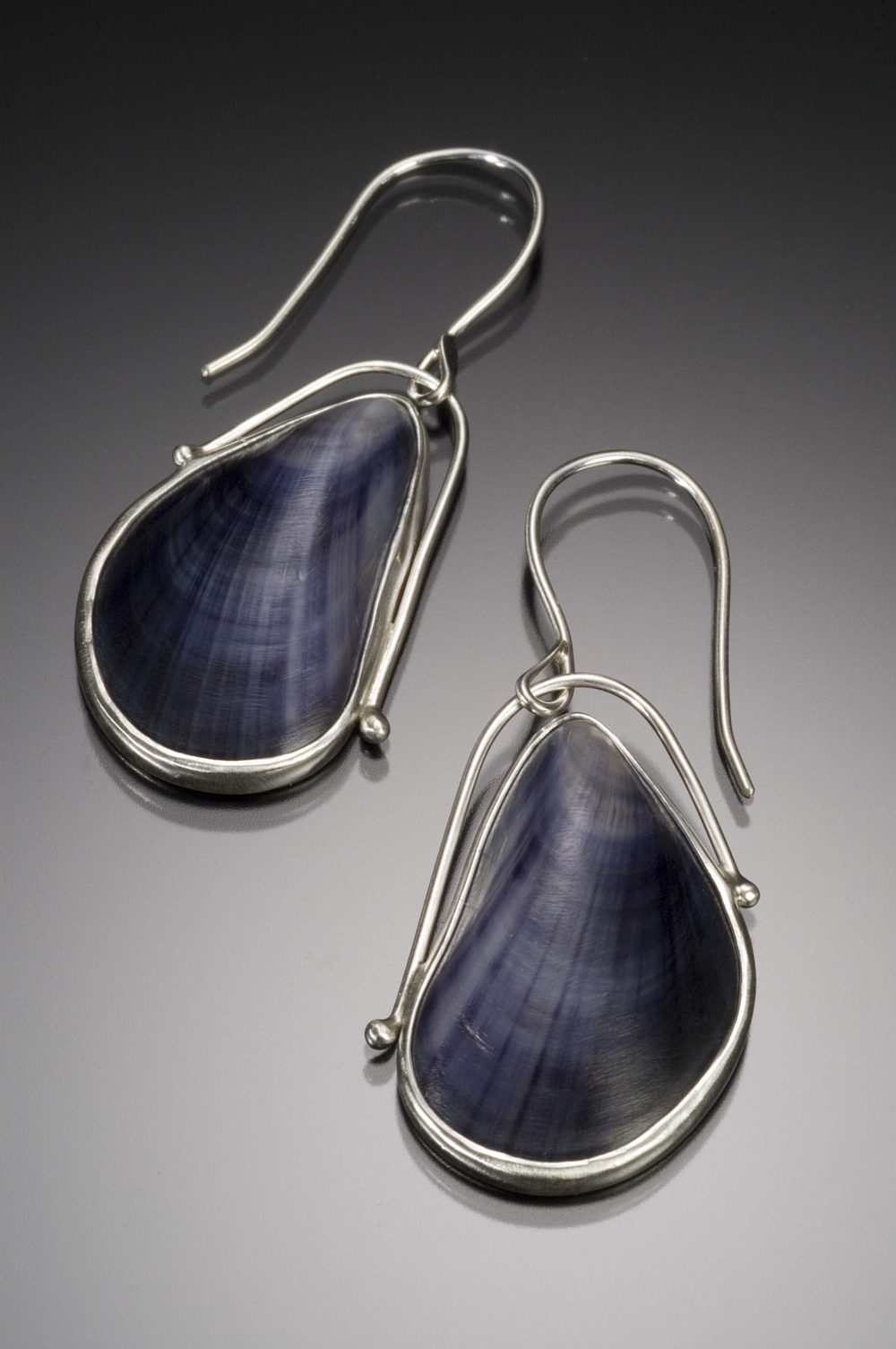 NISA Jewelry Maine Mussel Shell Earrings