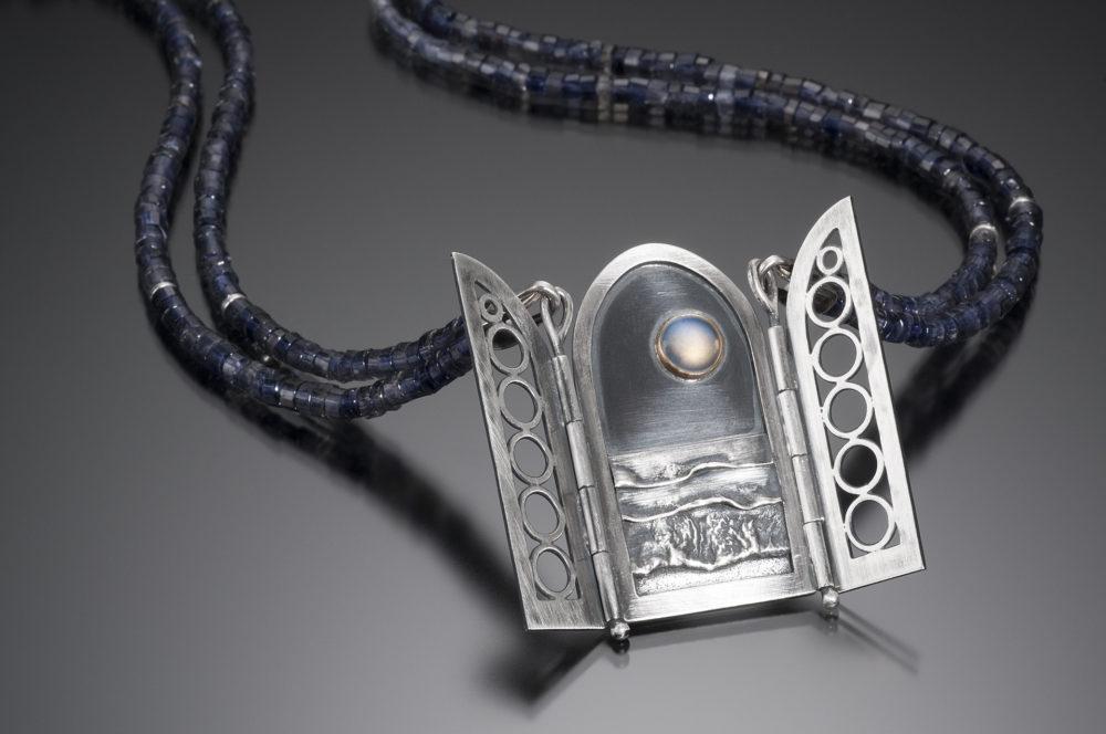NISA Jewelry Moonlit Ocean Necklace, detail